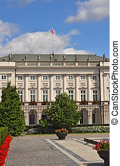 Presidential palace - Polish presidential palace in Warsaw....