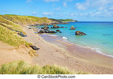 Sango bay Durness beach. Highlands of Scotland - Sango Bay...