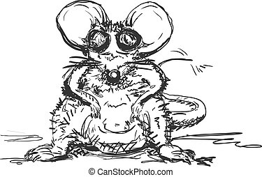 Hand Drawn Mouse