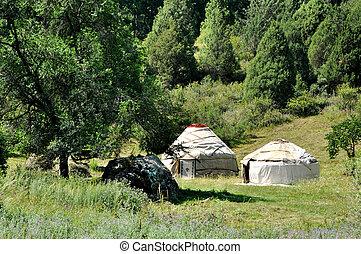 yurt is housing nomads