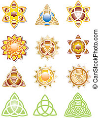 Trinity Graphic 3 - Trinity graphic variations 3 editable...