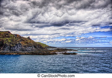 North-west coast of Tenerife, Garachico, Canarian Islands