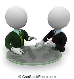 Negotiation - Two persons negotiation
