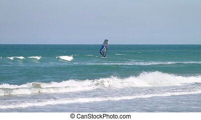 Wind Surfer Floridas Space Coast - Canaveral National...