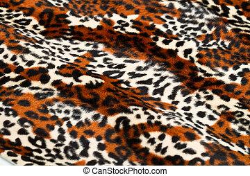 patrón, Leopardo, piel
