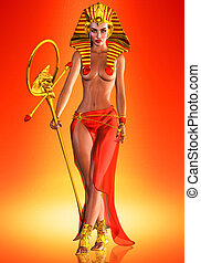 Pharaoh Queen - This is an homage to an Egyptian queen who...