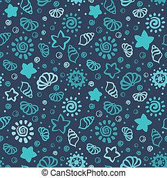 Summer shell pattern
