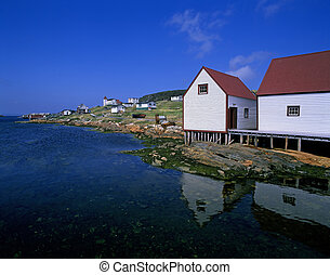 Battle Harbour - historic fishing village in Labrador