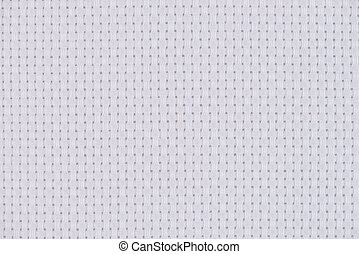 Cross Stitch - White cross stitch fabric background