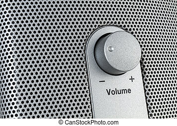 Volume control - sideways