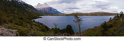 Los cuernos in Torres del paine - along the W Trecking road...