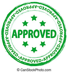 stamp approved