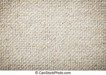 Background texture of woven canvas - Background texture of...