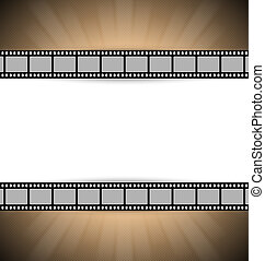 Film strip template - Film strip document template with...