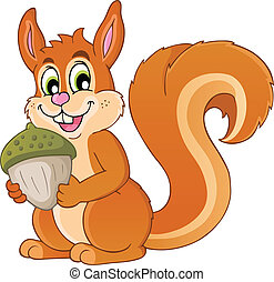 Image with squirrel theme 1