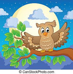 Owl theme image 1