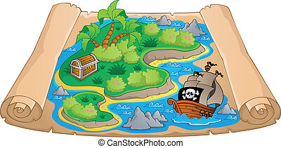 Treasure map theme image 4