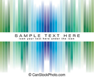 Colorful Striped Business Background for Brochure or Flyers...