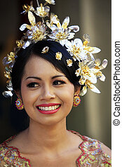Indonesian bride - The Indonesian happy bride Bali Indonesia...