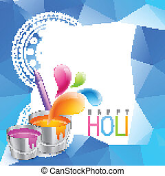 holi festival background - colorful holi festival background...