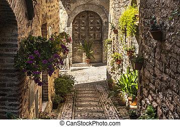 Spello Umbria - Spello Perugia, Umbria, Italy - Typical...