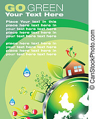 Environmental Business Card - Environmental and recycle Card...