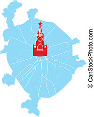 Moscow map
