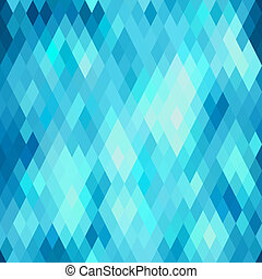 Seamless abstract geometric pattern with rhombus