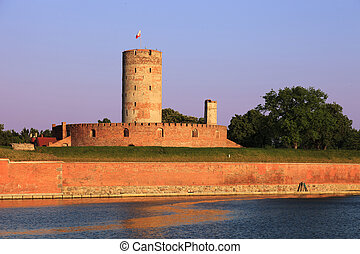 Medieval Fortress - Wisloujscie Fortress a place where in...