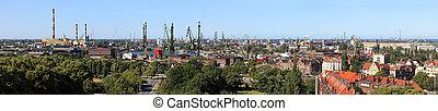stocznia, port, Gdańsk, Polska