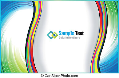 Abstract Background for Brochures - Colorful Abstract...