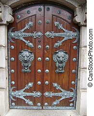 Growling Doorway - Beautiful doors leading to home in Boston...
