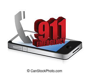 Emergency smartphone call