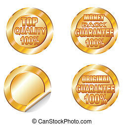 Quality and Guarantee Golden Labels - Colorful Quality and...