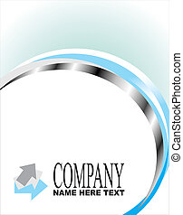 Company business card - Abstract Company business card...