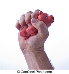 Pig Stress Ball - Soft Pigs mage the best stress balls
