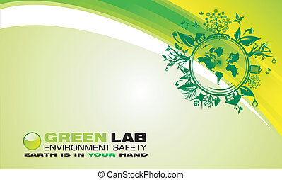 Environment Green Background