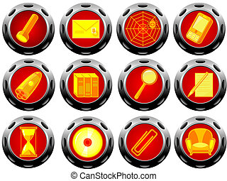 Buttons with icons