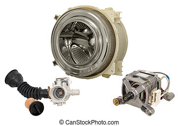 Parts washing machine. - Details of household automatic...