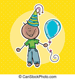 Party Time Icons - Party Time Colorful Icons for birthday or...