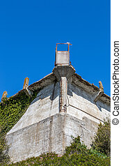 Cell Block A at Alcatraz Island Prison. - Cell Block A at...