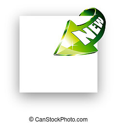 Arrow pointing to the center of the image - Abstract Arrow...