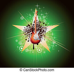 Music Abstract Background for Flyers