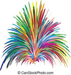 Color fountain - Symbol for creativity, innovation and...