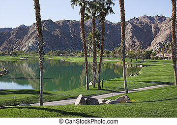 Palm Springs golf Course - Palm springs, Arnold Palmer...