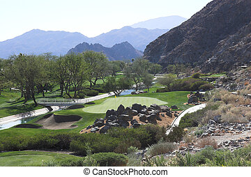Palmer golf course in Palm Springs - Arnold Palmer Golf...