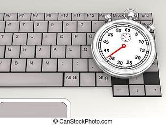 Keyboard Stopwatch