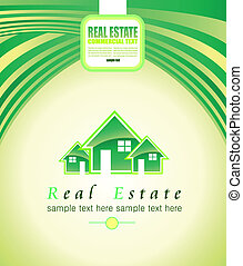 Real Estate Background for Brochures