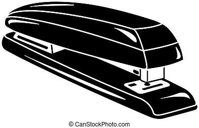 stapler vector illustration