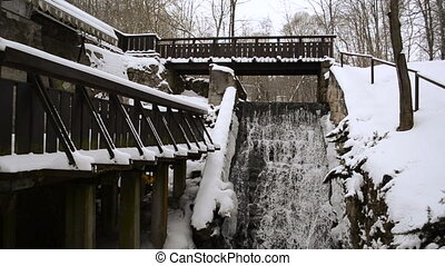 old mill brook winter